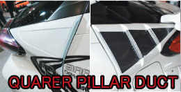 C-HR QUARER PILLAR DUCTS